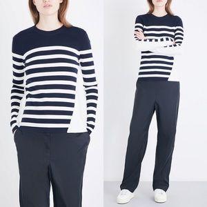 RAG&BONE Cecilee stripe merino wool-blend Sweater